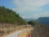 Foothills Parkway Construction February 2009