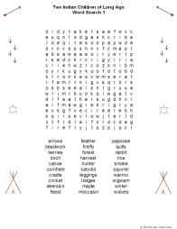 Indian Children WordSearch Cover