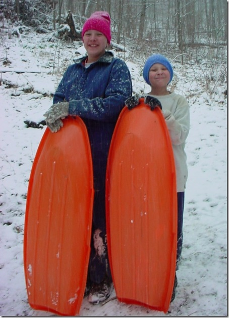 My-Two-Sled-racers