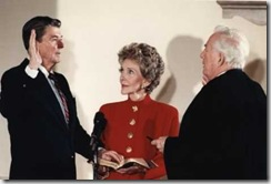 President Reagan Swearing-in Ceremony 1985