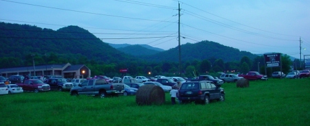 Parking At Fireworks Show in Townsend